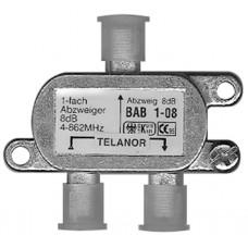 Abzweiger 1x 75 Ohm BAB1-12 Telanor