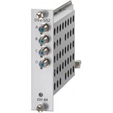Umsetzer QUAD DVB-S/S2 MPEG2/4 in QAM DVB-C Wisi