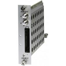 Umsetzer TWIN DVB-S/S2 in QAM, HD, mit CI, für OH50 Wisi