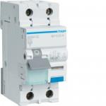 Fehlerstrom-Leitungsschutzschalter 1P+N 6 kA C-13A 30mA A Typ ADA913C Hager