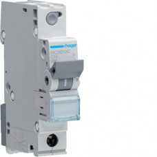 Leitungsschutzschalter 1P 6kA C-10A Quick Connect 1M MCS010C Hager