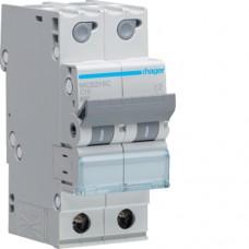 Leitungsschutzschalter 2P 6kA C-16A Quick Connect 2M MCS216C