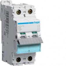 Leitungsschutzschalter 2 polig 10kA C-Charakteristik 16A 2 Module NCN216