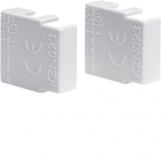 Endkappe für Phasenschiene 2 und 3 polig Hager KZN023