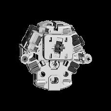 L-Kombi,Gr.I,3/1L+T13,10A,KS Einsatz Feller,Frontlinse LED gelb,ohne Frontset,BSE