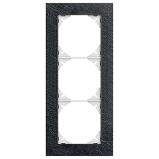 Abdeckrahmen EDIZIOdue prestige 3x1