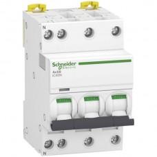 Leitungsschutzschalter Schneider Electric Clario iC40 25A (D) 3LN 6kA