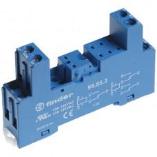 Stecksockel 8L zu Printrelais Finder J 94990/..