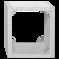 AP-Holzrahmen für FLF 2x3 Hartholz lackiert
