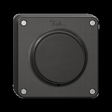 NUP-Druckschalter Feller NEVO S3/1L beleuchtbar schwarz