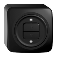 AP-Storenschalter SDUE schwarz 1-Kanal