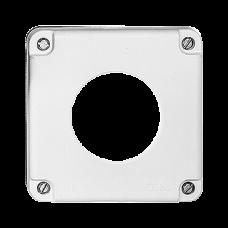 Deckel ohne Klappdeckel für Einfachsteckdosen NAP Feller nass Bohrung 43mm