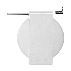 Klappdeckel für Feller NAP/NUP mit Achse und Spannfeder