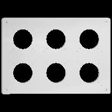UP-Kopfzeile FH NUP 2x3 inkl. Kombinationsplatte