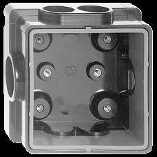 Nass Robust Alu-Guss Einlasskasten Duroplast 55-75mm