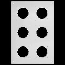 Montageplatte FH NUP 3x2