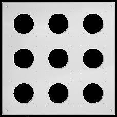 UP-Kopfzeile FH NUP 3x3 inkl. Kombinationsplatte
