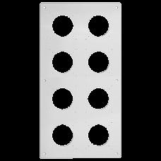 UP-Kopfzeile FH NUP 4x2 inkl. Kombinationsplatte