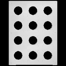 UP-Kopfzeile FH NUP 4x3 inkl. Kombinationsplatte