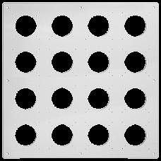 UP-Kopfzeile FH NUP 4x4 inkl. Kombinationsplatte