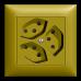 Dreifach-Steckdose Typ 13 EDIZIOdue colore parallel