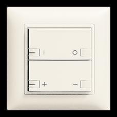 UP-Dimmer Zeptrion 2K/2T Zentral-/Nebenstelle ON-OFF EDIZIOdue LED