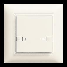 UP-Dimmer DALI zeptrion 1K/1T Hauptstelle EDIZIOdue mit LED 2fach-Bedienung